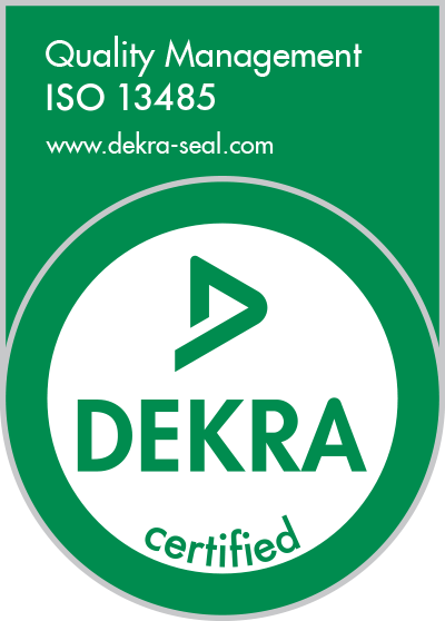 13485-green Dekra seal